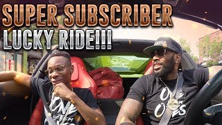 GAVE A SUBSCRIBER A RIDE IN HIS DREAM CAR!!!