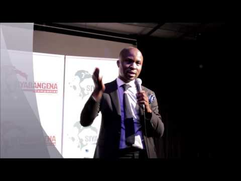 Jabulani Ngcobo speaks at Siyabangena Seminar