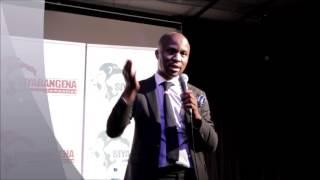 Jabulani Ngcobo speaks at Siyabangena Seminar
