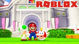 SUPER MARIO... in ROBLOX!? *SOO COOL!! *