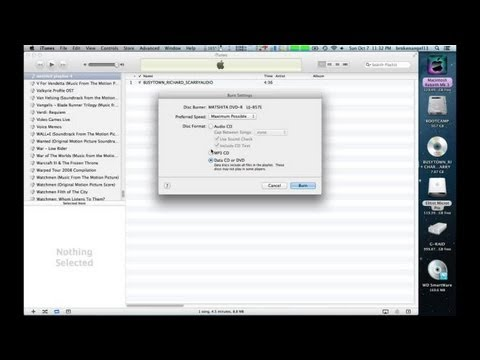 How to Make an Audio CD From a Video DVD : Mac Audio Tips