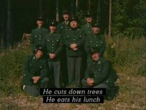 Lumberjack Song in GERMAN!