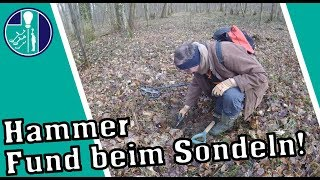 Mega Fund beim Sondeln mit dem Metalldetektor - Great find with the metal detector
