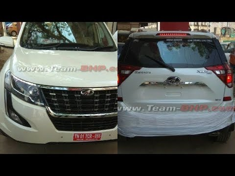 First Look ! 2018 Mahindra XUV500 Facelift Exterior Revaled. Gets 150hp engine.