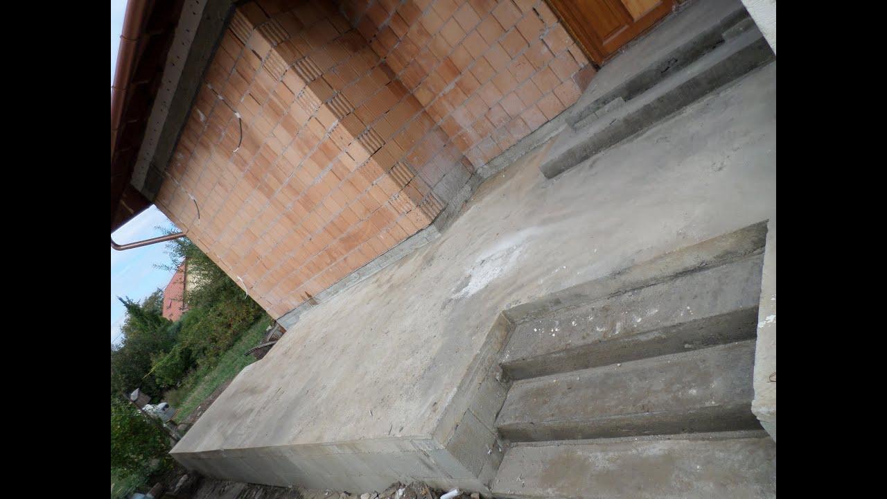 terasz építés, vasbeton lépcső készítés, kőműves Budapesten 70-285 ...