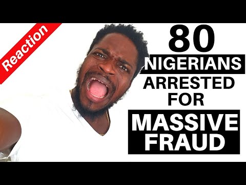 80 Nigerians Arrested For Massive Fraud In USA | Reaction