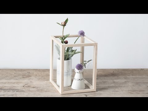 DIY : A beautiful display case for a still life by Søstrene Grene