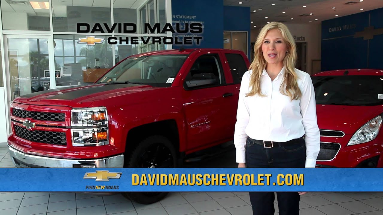 David Maus Chevrolet Commercial   Oct 2014   YouTube
