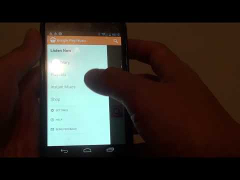 Google Nexus 4: How to Enable/Disable Automatic Cache  Music Player