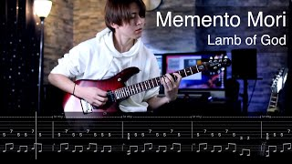 Lamb of God - Memento Mori Guitar Cover TAB Movie