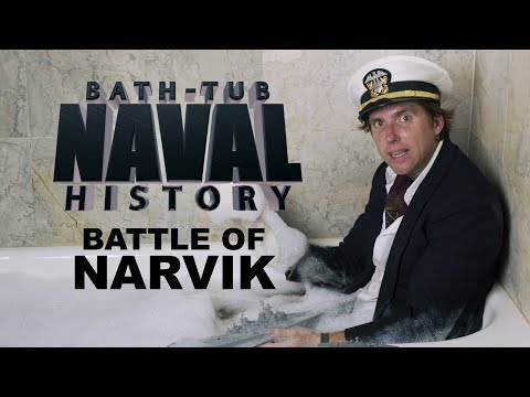 Bath Tub Naval History - Battle of Narvik
