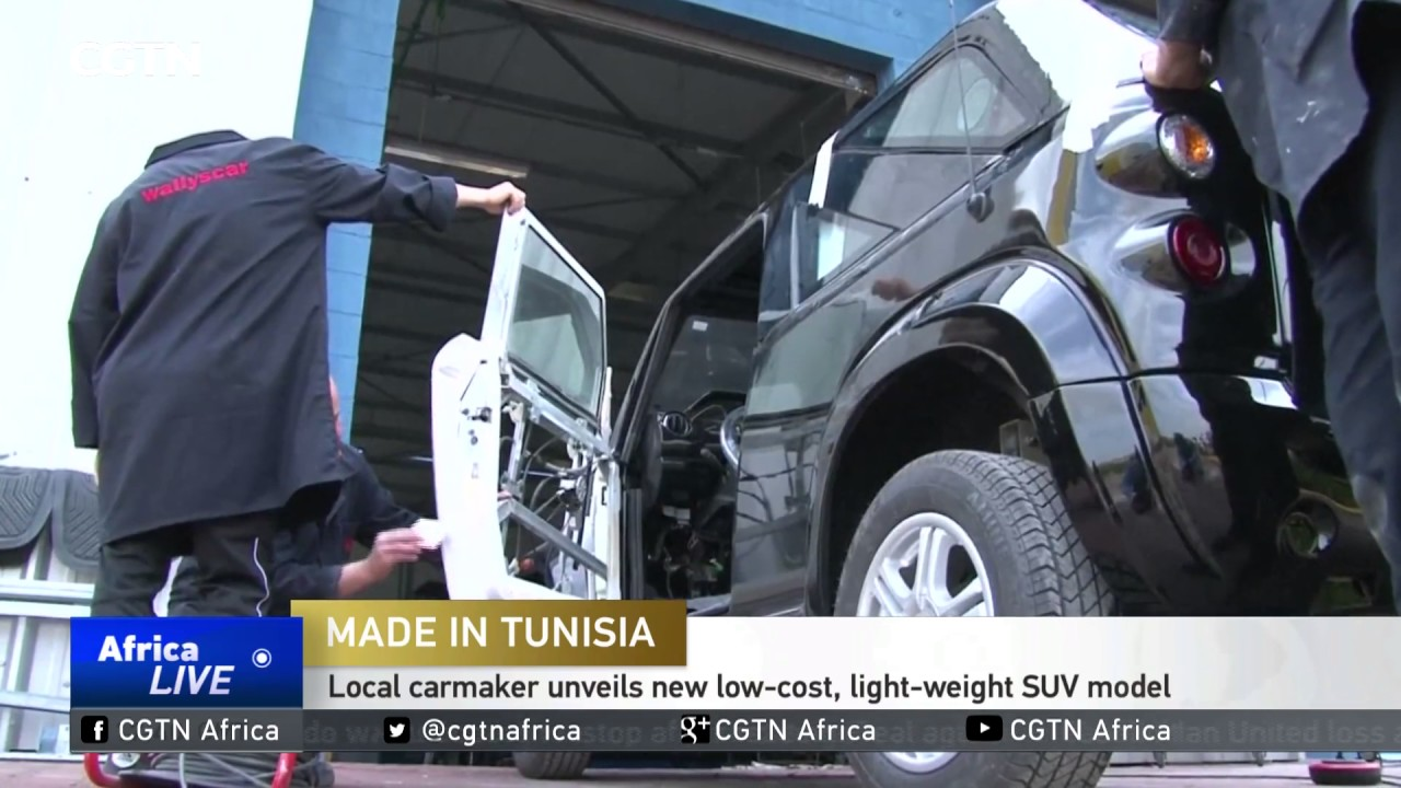 Tunisia Local Carmaker Unveils New Low Cost Light Weight Suv Model
