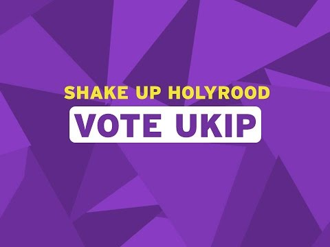 UKIP Scotland Party Political Broadcast