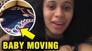 Cardi B's BABY MOVES In Her Belly And More Candid Conversations!
