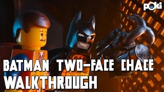Batman is Back! LEGO Batman Two-Face Chase!
