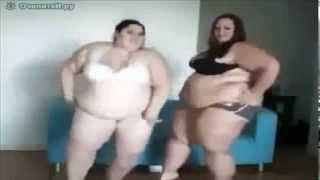 Две толстушки Не для слабонервных