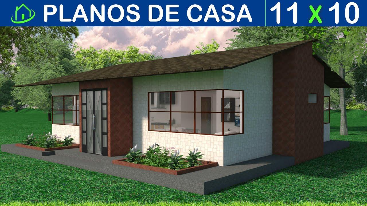 Dise os y planos de una casa sencilla 1 piso proyecto for Fachadas de casas modernas en honduras