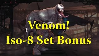 Marvel Future Fight - Venom Review - Iso-8 Set Bonus Effects