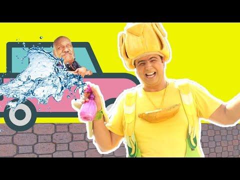 فوزي موزي وتوتي - تنظيف القزاز - Car wash
