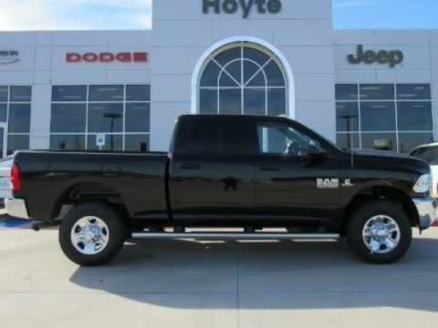 Hoyte Dodge Durant Ok >> 2017 RAM 2500 4x4 Crew Cab Tradesman New Black Truck For ...