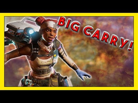 Massive Carry During Twitch Rivals Tournament! - Seagull - Apex Legends