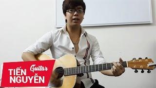 Hướng dẫn tự tập guitar đệm hát cơ bản bài 6_1 - Quạt chả Ballade ứng dụng bài nồng nàn hà nội