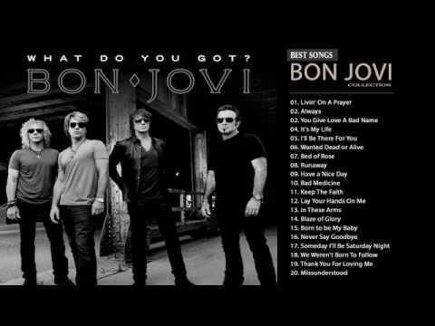 Bon Jovi Greatest Hits Full Album- Best Songs Of Bon Jovi Nonstop Playlist