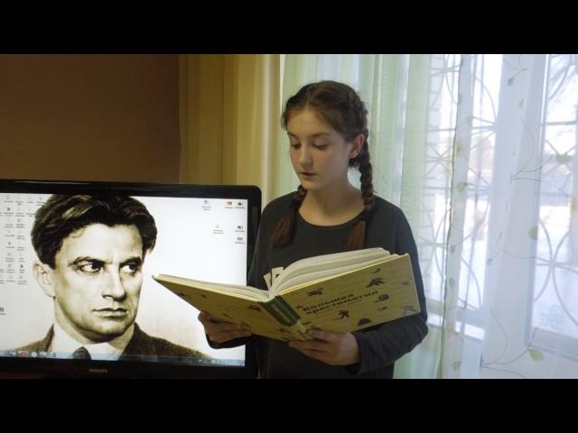 Изображение предпросмотра прочтения – АнастасияТрушина читает произведение «Стихи о Фоме» В.В.Маяковского