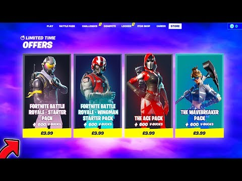 How To Purchase *OLD STARTER PACKS* With This Glitch! (fortnite Glitches)