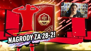 NAGRODY ZA 28-2 W FUT CHAMPIONS! | FIFA 20 JUNAJTED