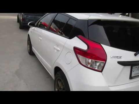 รถเก๋งมือสอง รถราคาถูก TOYOTA (โตโยต้า ยาริส) Yaris สีขาว ปี 2013 เกียร์ออโต้#UC71