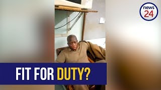 WATCH: 'I am fine for duty' – Correctional services to investigate apparently drunk officer