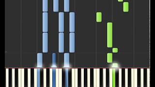 Piano tutorial When I was your man  Bruno Mars (easy version)
