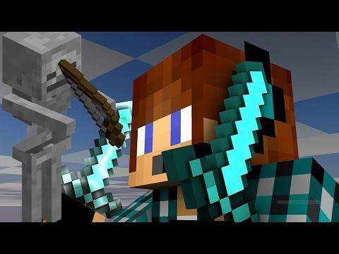 Minecraft Survival #19-Esqueleto Maldito!