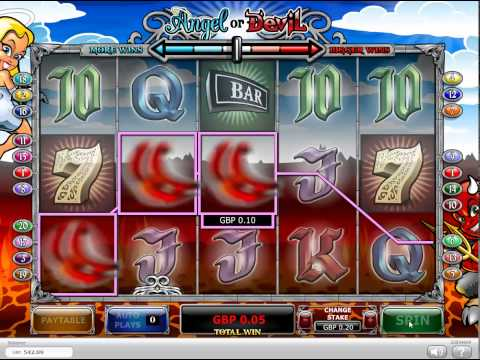 WMS' Fallen Angels slot machine - Big Bonus Win from YouTube · High Definition · Duration:  4 minutes 35 seconds  · 9 000+ views · uploaded on 10/08/2014 · uploaded by Random $$ Slots