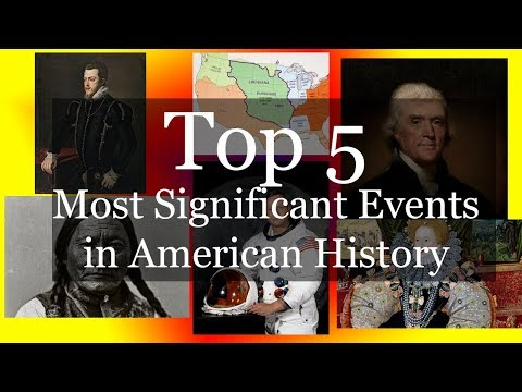 Top 5 Most Significant Events In American History! |Basharat Khan|