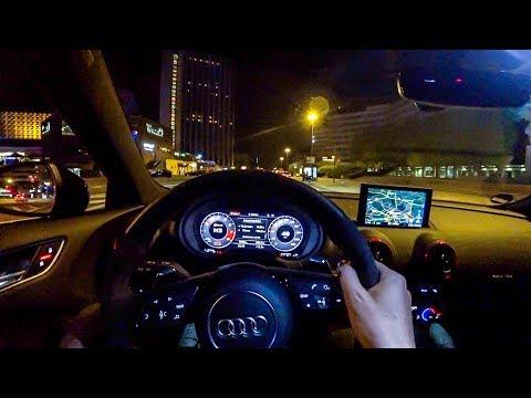 2018 Audi RS3 Sportback NIGHT POV DRIVE - Nice 5 Cylinder Sounds! - ///Lets Drive///