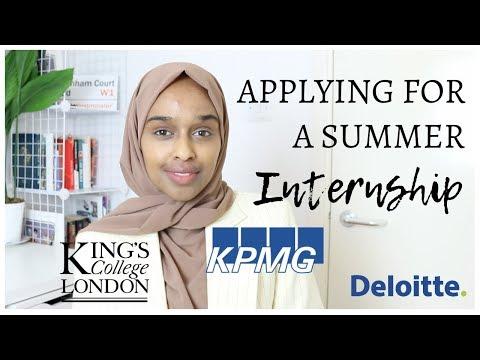 HOW I GOT MY SUMMER INTERNSHIP | Tips & Advice | KPMG, KCL, Deloitte, PwC, UCL