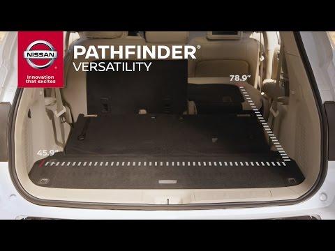 2017 Nissan Pathfinder | Cargo Versatility