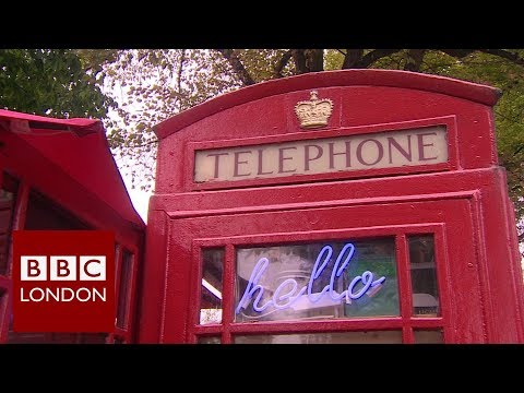 London's Phone Box Coffee Shop - BBC London