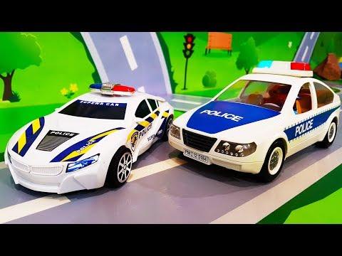 Полиция мультфильм видео
