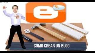 Como crear un blog en blogger primer paso 2014