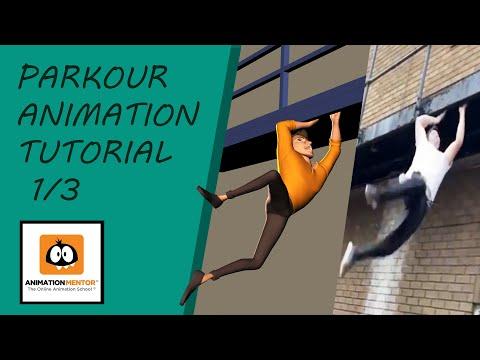 Parkour animation tutorial 1/3