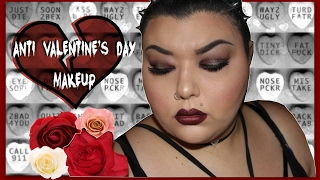 Anti Valentine's Day Makeup Tutorial | ft  Melt Cosmetics