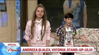 Andreea si Alex, viitorul stand-up-ului