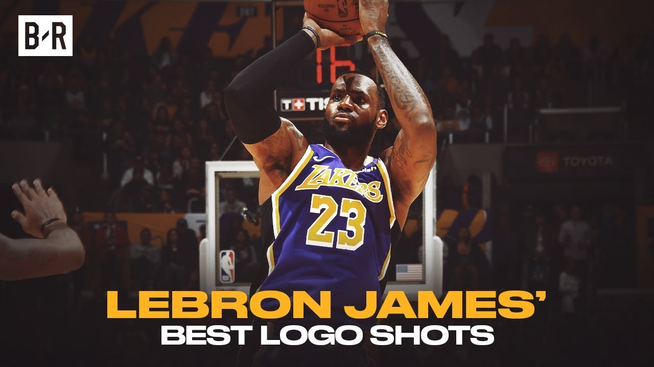 LeBron James Is Automatic From The Logo