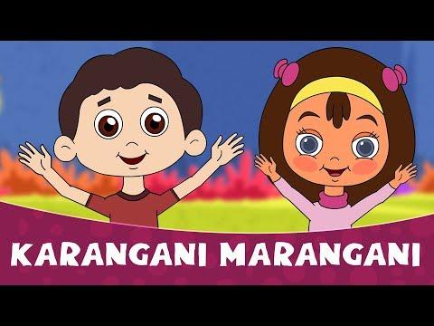 Karangadi Marangadi | Marathi Balgeet for Kids | Badbad Geete, Marathi Rhymes 2018