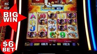 Buffalo Gold Slot Machine  ★BIG WIN★ Bonus $6 Max Bet  !! Live Slot Play