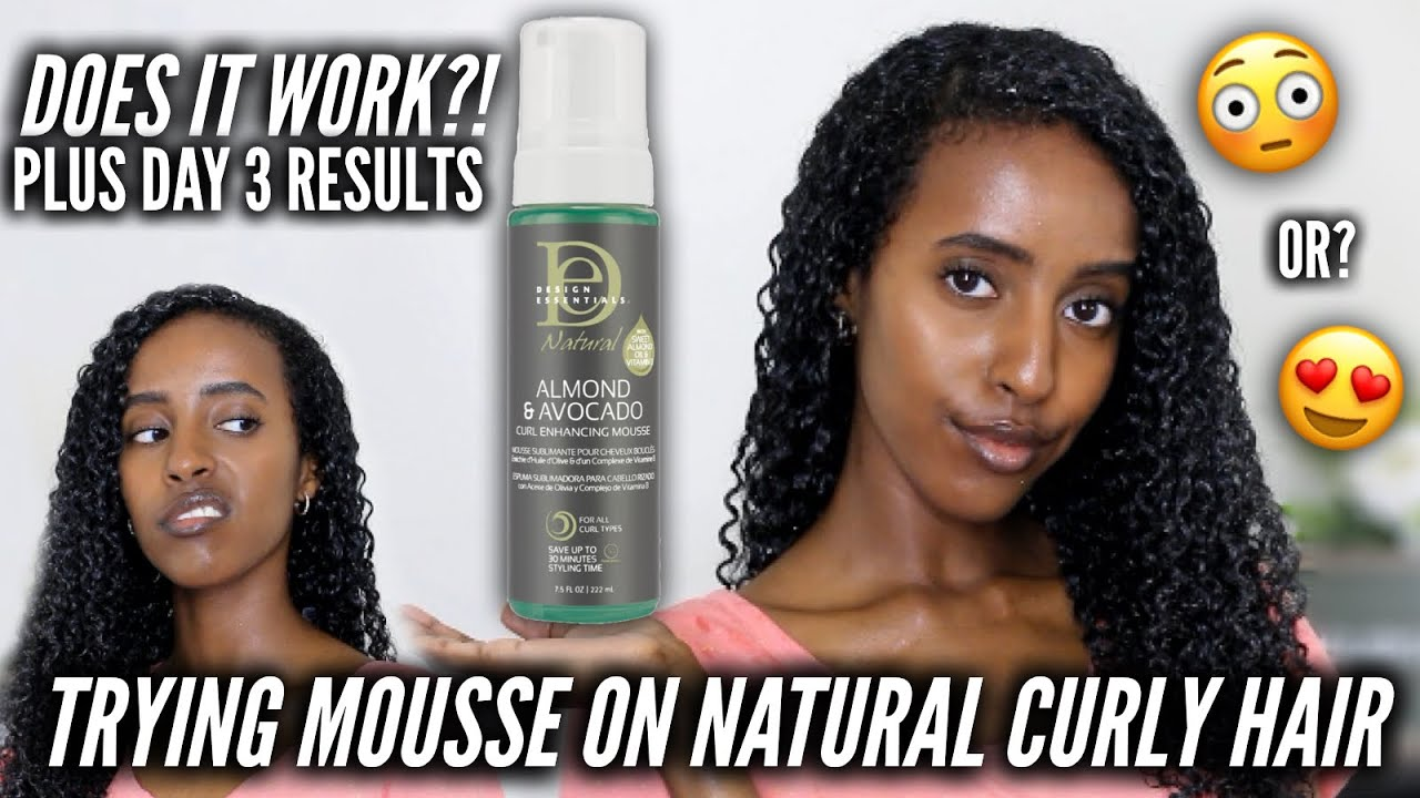 First Time Trying Moussedesign Essentials Curl Enhancing Mousse