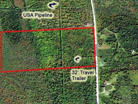 Cheap Land In Maine For Sale | 10 Acres In Linneus ME, Aroostook County MOOERS #8532